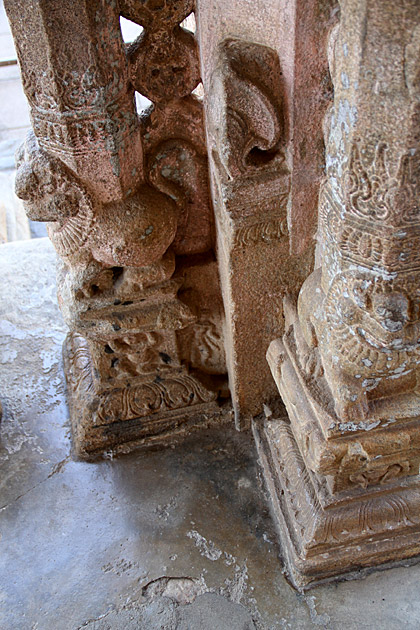 Old Stone Carvings Gadaladeniya
