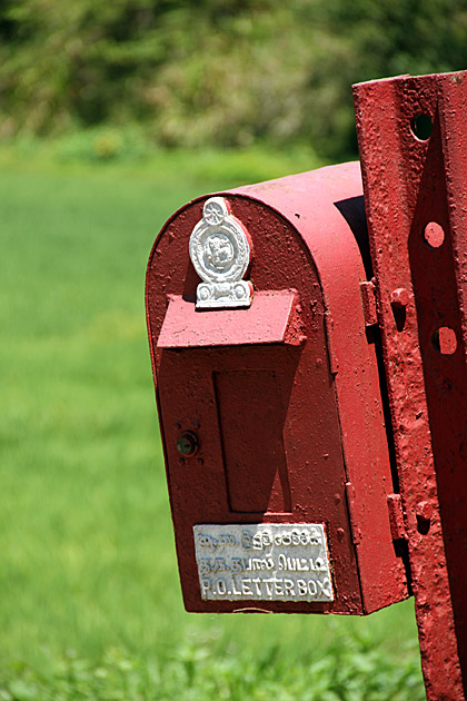 Rice Mailbox