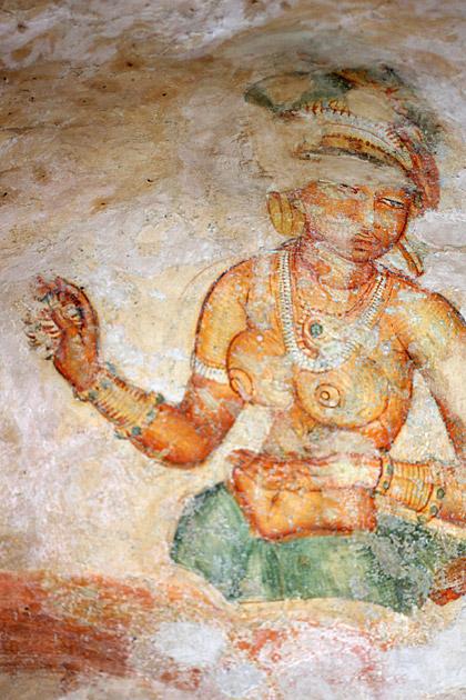 Cave-Painting-Sigiriya