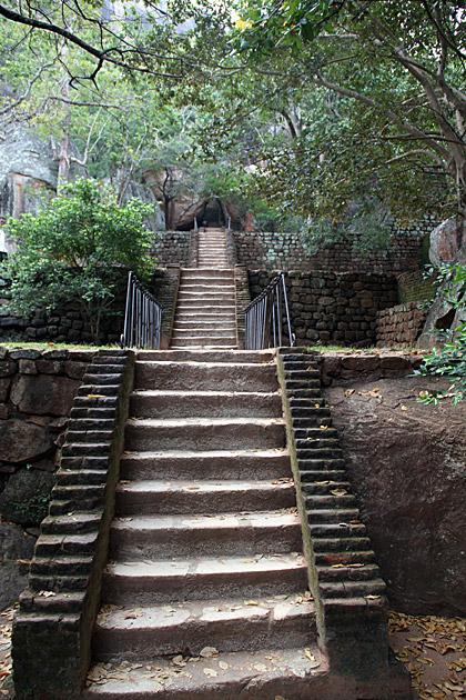 Going Uphill Sigiriya
