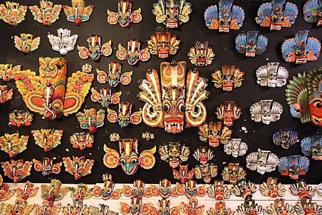 Masks of Sri Lanka